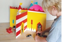 cardboard play / Got a cardboard box? The possibilities for creative play time fun are endless!