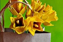 Made from Egg Cartons / Inspiring crafts using simple egg cartons.