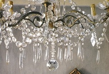 Chandelier love / I want this!