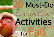 Fall Crafts for Kids / Kids craft and activity ideas to help you get the most of the Fall season. / by Inner Child Fun Kids Crafts