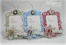 Paper Art - Gift tag