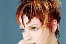 Short Funky do's / Short and fun hair / by Victoria Hines