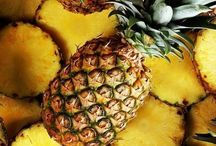 I レ O √ 乇 ♥ ... pineapples / Pineapple perimeters fan out pallet of greens from yellow brown diamonds! / by Kelli Minton-Baker