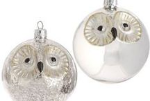 Owl Christmas Tree Ornaments / Owl ornaments and decorations for Christmas - snowy and white owl Christmas ornaments are just a few of my favorites. Do you love your owl decorations ad want to share? Then drop me a line and I will add you as a contributor...