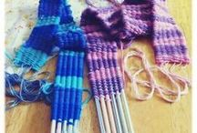 Weaving and Sewing ideas for school