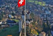 SWITZERLAND Travel / The very best places to go in Switzterland including top Swiss dining, hotels, spas and visitor attractions