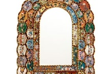 MIRROR MIRROR ON THE WALL / They are wonderful for relecting light, and can be real pieces of art work..