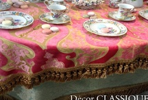 SOFT FURNISHINGS / Elegant Interior Fabric Decorations