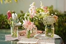 Fun and Floral. / by Puff 'n Stuff Catering