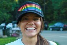 Rainbow Trucker Hats / by Pride Socks