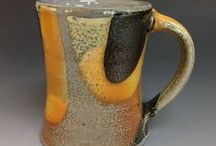 Ceramics: Cups, Drinking / I love pottery cups and other vessels for drinking.  I make a lot of cups at Ron Philbeck Pottery.  We also collect and use so many cups in our home.  I think pottery cups and mugs are the backbone of the potter's art.
