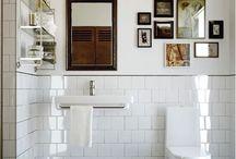el bano / bathroom decor inspiration