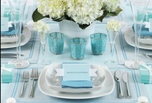 Hues of Blue. / by Puff 'n Stuff Catering