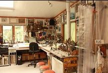 Dream Art Studio / One day I wish to have my own art studio for drawing, painting, and creating jewelry / by Alicia Wyatt