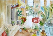 Frances Marin art / My paintings and other creative endeavors.
