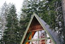 A-Frame / The coziest of spaces.