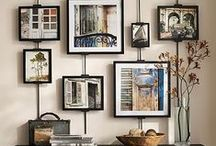 Show it off! Portrait displays for the home. / Don't let your beautiful portraits sit in a box. Show them off, hang them proudly. RPB offers home design consultations as a complimentary service. We will come hang your pieces for you! Here is some inspiration for your walls.