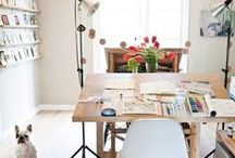 Dream Home Art Studio / Dream art studio ideas as I move from one studio to another.