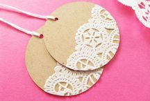 Cards: Gift Tags / by Brenda Parker