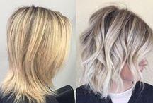 warm/cool hair tones