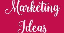 Marketing Ideas / online marketing, email marketing, content marketing, digital marketing, visual marketing, social media, public relations, marketing strategy