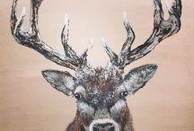 JulieCArt / Acrylic paintings