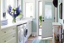 Laundry Room / All things Laundry- Laundry room design, beautiful laundry rooms, functional laundry rooms. / by Marie {Blooming Homestead}