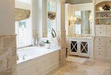 Bathroom / Pretty bathroom spaces. Lovely bathrooms. Bathroom decor and bathroom updates. / by Marie {Blooming Homestead}