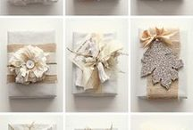 Gifts/Packaging / Beautiful diy gift wrapping. Lovely packaging. Pretty gift ideas.