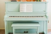 Furniture / Great ways to update furniture. Painting furniture, diy upholstery. / by Marie {Blooming Homestead}