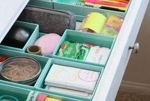 Organization / Looking for fun ways to keep organized. Anything for organizational printables to beautiful bookcases. / by Marie {Blooming Homestead}