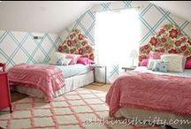 attic room / attic room decor ideas | attic room remodel | decorating a loft room | decorating an attic style room | home renovation ideas