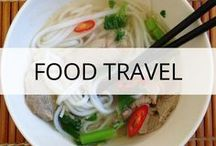 Food Travel / Flavours of the World - What to eat when you're travelling. The best restaurant guides, food trip itineraries, food tours and street food by destination! Foodie travel, what and where to eat as you travel, dishes you have to try, destinations for foodie vacations, foodie holidays and more. Read more at https://thetravelbunny.com
