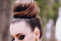 Buns of Steel / Steel this look! Soft buns, high buns and pretty buns (we're talking hair of course!)