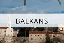 Balkans Travel / Balkans travel guides, tips and inspiration. Travel guides, tips and photos featuring top sights, attractions, views, food and how to save money on your trip. Featuring Slovenia, Croatia, Montenegro, Albania, Bulgaria, Romania, Bosnia, Serbia and Macedonia. More at https://thetravelbunny.com/