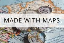 Made with Maps / Map inspired loveliness - clothes, furniture, art, gifts and all things made with maps