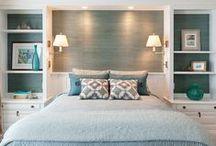 decor: master bed & bath