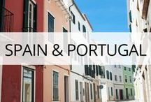 Spain & Portugal Travel / Spain and Portugal travel guides, tips and photos featuring top sights, attractions, views, food and how to save money on your trip. More at https://thetravelbunny.com/spain/
