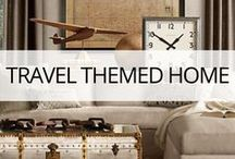 Travel Themed Home / Travel inspired furniture and accessories for your home. From travel scrapbooking and travel journaling to home decor and how to save your souvenirs. All things travel related crafty DIY projects! DIY Travel projects & DIY travel crafts.