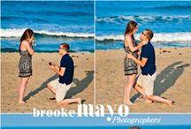 Outer Banks Surpise Proposal / Surprise wedding proposal captured by Brooke Mayo and Candace Owens of Brooke Mayo Photographers.  www.brookemayo.com