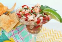 Appetizers and Dips / Delicious Appetizers and dip recipes perfect for any party or dinner. / by Marie {Blooming Homestead}