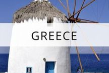 Greece Travel / Greece - travel guides, tips and photos featuring top sights, attractions, views, food and how to save money on your trip. More at https://thetravelbunny.com/greece/