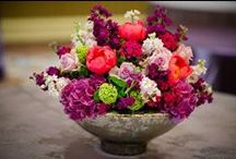 Philadelphia Four Seasons Spring Wedding / shades of purple, coral & green wedding w/ custom Philadelphia print pieces & hotel gifts