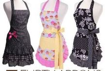 """Flirty Aprons / Our new line """"Flirty Aprons"""""""
