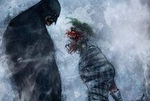 Superheroes, villanos y caricaturas