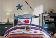 Kid Bedroom Inspiration / Decorate and organize a room worthy of a home design magazine! Find products and inspiration to make your home a haven parents and kids alike will adore.