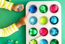Kid-Friendly Crafts / Your creative, artistic kids will love exploring the many ways to express themselves with glitter, felt, glue sticks, and more. Check out our top ideas to keep them occupied on rainy days and snow days!