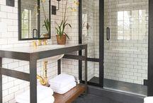 Bathrooms and Washrooms / by Lindsey Shifley