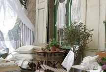 garden and outdoor living areas