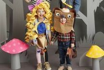 Kid-Friendly Halloween Costumes / Why buy one off the shelf when DIY kids costumes are so clever, cheap, and easy!